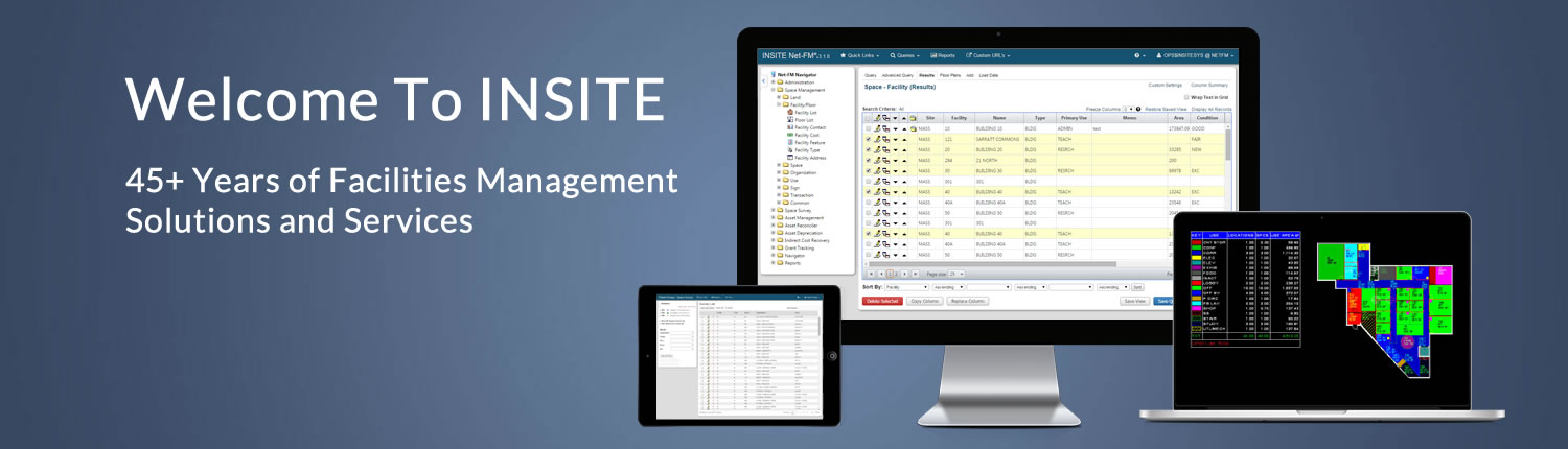 INSITE Facilities Management Software